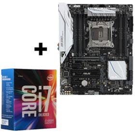 ASUS X99-A II Motherboard + Intel Core i7 6800k CPU