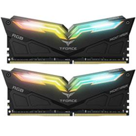 Team T-Force Night Hawk RGB 16GB (2×8GB) DDR4 3000MHz RAM