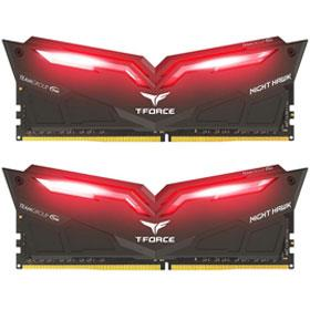 Team T-Force Night Hawk LED 32GB (2×16GB) DDR4 3200MHz RAM