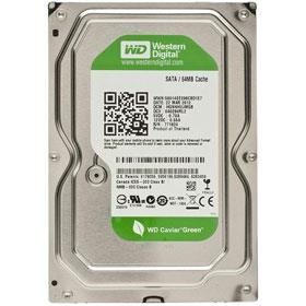 Western Digital Caviar Green 500GB 64MB Internal HDD