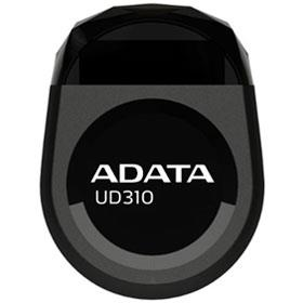 ADATA UD310 Jewel Like USB Flash Drive Black - 16GB