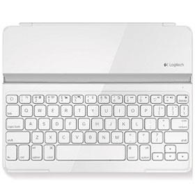 Logitech keyboard tablet ultrathin - white