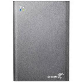 Seagate Wireless Plus Hard Drive with Built-In Wi-Fi - 1TB
