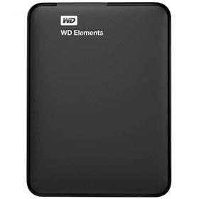 Western Digital Elements External Hard Drive 500GB