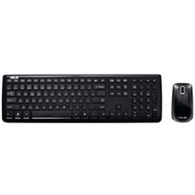 ASUS W3000 Slim Chiclet Wireless Keyboard and Mouse and Mouse Met