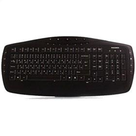 Farassoo FCR-6160 Internet and Multimedia Keyboard