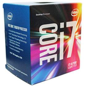 Intel Core i7 6700 Skylake 3.4GHz 8MB Cache