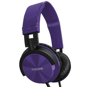 Philips HeadPhone SHL 3000 purple