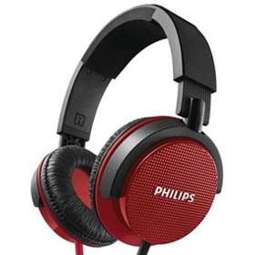 Philips HeadPhone SHL 3100 RED