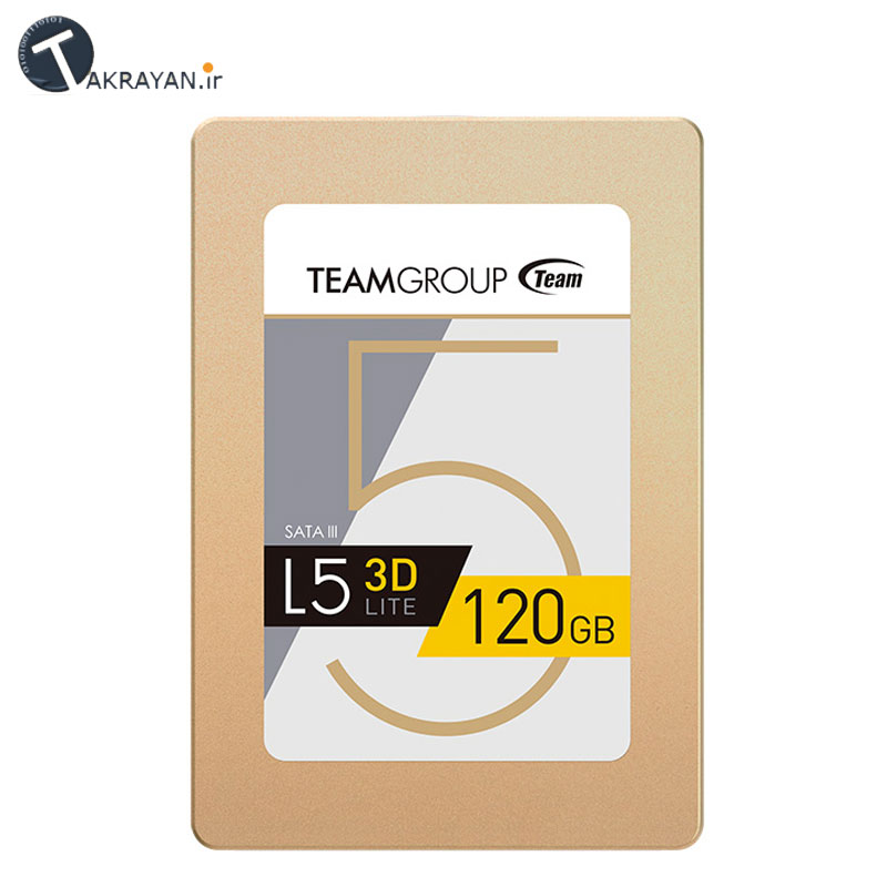 Team GROUP L5 LITE 3D SATA3 SSD - 120GB 1