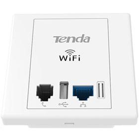 Tenda W6 Wireless N300 In-Wall Plate Wireless Access Point