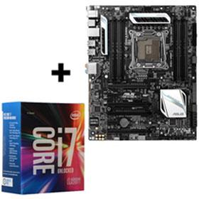 ASUS  X99-A/USB 3.1 Motherboard + Intel Core i7 6800k CPU